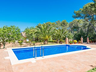 CA NA BARBARA - Wonderful villa with private pool for 8 people in Santa Maria - Marratxi vacation rentals