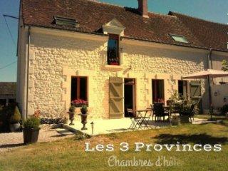 Les 3 Provinces - Chambres d'Hôtes de charme - Couffy vacation rentals