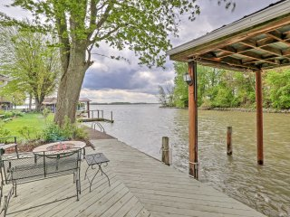 NEW! 3BR Indian Lake Home w/ Back Patio & Dock! - Lakeview vacation rentals