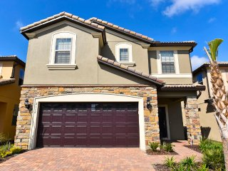NEW 7 BR 5.5Bath pool home in Windsor at Westside- lazy river- from $205/night - Orlando vacation rentals