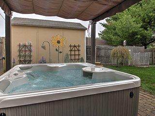 New! Saco Studio w/Spacious Backyard and Hot Tub! - Saco vacation rentals