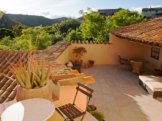 An authentic medi-eval cottage with 3 bedrooms and a huge sunny terrace - Vailhan vacation rentals