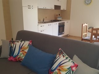 Modern one bedroom ground floor apartment close to train with garden number 37 - Pizzo vacation rentals