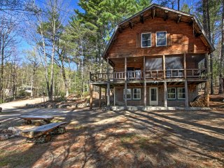 NEW! 'Treehouse' 4BR Madison Cabin w/Game Room! - Madison vacation rentals