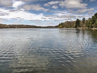 New! Lakefront 2BR Balsam Lake Cabin w/Private Dock - Balsam Lake vacation rentals