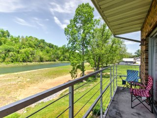 NEW! Riverfront 1BR Bluff City Apartment w/Balcony - Bluff City vacation rentals