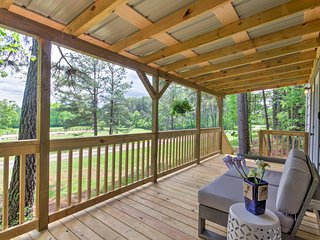 New! 1BR Columbus Cabin w/ Spacious Covered Porch! - Columbus vacation rentals