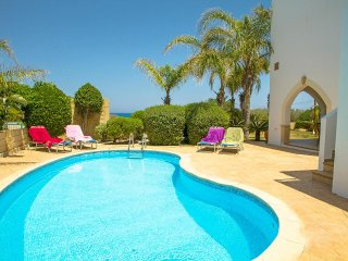 Villa Elena 2 - Super 4 bed villa-near Fig Tree Bay, WIFI, great sea views, pool - Protaras vacation rentals