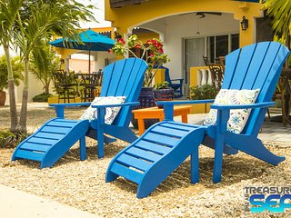Treasure By The Sea Bonaire KAS DI AMIGU 1 Bedroom Steps to Sea Walk to Town - Kralendijk vacation rentals