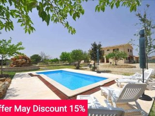 Last minute offer 15% May 2017 - Majestic country house with private pool in - Majorca vacation rentals