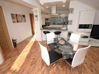 Luxury apartment with terrace and parking - Trogir vacation rentals
