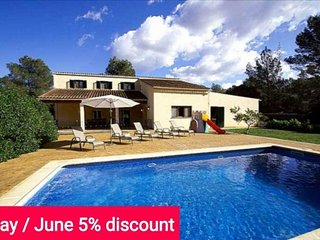 Last minute offer 5% May and June 2017- Comfortable house for 10 people with - Sencelles vacation rentals