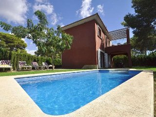 Modern twinhouse with own pool and garden in Cala Pi. - Cala Pi vacation rentals