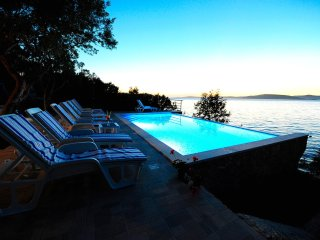 Villa Jadre with swimming pool and private beach near Split - Maslinica vacation rentals