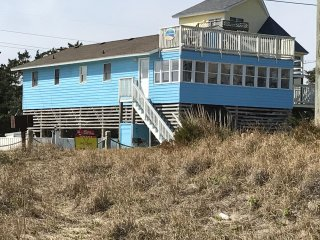 God's Blessings! Oceanfront Views: 4BR Retreat; Private Pool, Spa, Pub Room. - Avon vacation rentals