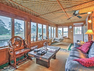NEW! Canalside 3BR Chincoteague Island Home w/Pier! - Chincoteague Island vacation rentals