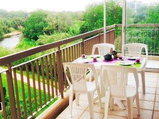 [576la] 2P VUE PISCINE GRANDE TERRASSE - PARKING - La Napoule vacation rentals
