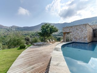 Gorgeous architect-designed villa in one of Corsic - Sant'Antonino vacation rentals