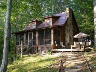 Beautiful Lakefront Cabin on gradually sloping lot - La Follette vacation rentals