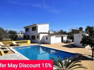 Last minute offer 15% May 2017. Country house with private pool in Binissalem - Binissalem vacation rentals