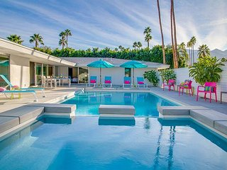 Pretty in Pink at the Indian Canyons - Mid Mod Executive Villa - Palm Springs vacation rentals