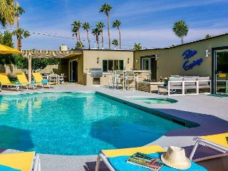 Mellow Yellow Butterfly - Featured on Modernism Week Home Tour - Palm Springs vacation rentals