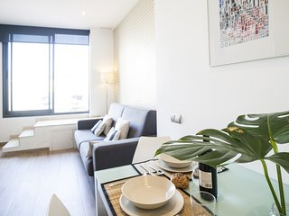 Mozart one bedroom with terrace apartment - Barcelona vacation rentals