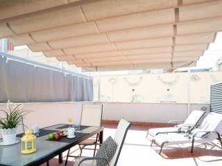 Poblenou Beach one bedroom with terrace apartment - Barcelona vacation rentals