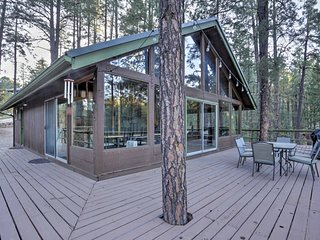 New! Rustic 3BR Prescott Cabin  w/1,000 sq ft Deck - Prescott vacation rentals
