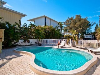 Bradley's Beach House: 4BR Pool Home Steps From Beach - Anna Maria vacation rentals