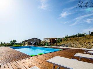 Modern Villa Alina with pool near charming village and Mediterranean Coast - Tarquinia vacation rentals