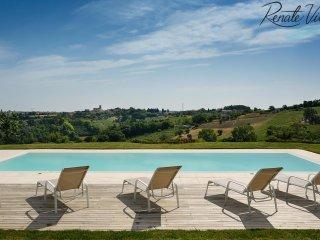 Villa Costanzo on the hill near charming village and Adriatic Coast - San Costanzo vacation rentals