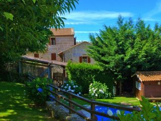 317 Three bedroom country house with pool - Anceu vacation rentals