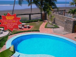 Beach Front 9 BR Casa Dulce - Party on the beach! Prime Location - Jaco vacation rentals