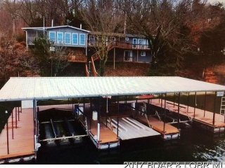 Serene Waterfront Home w/ Private Dock & Breathtaking View  Sleeps up to 15 - Gravois Mills vacation rentals