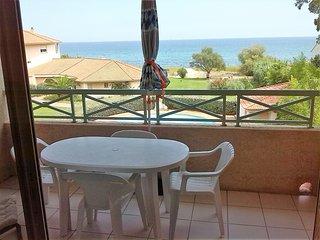 Appartement pour 4 personnes sur la plage avec vue mer - San-Nicolao vacation rentals