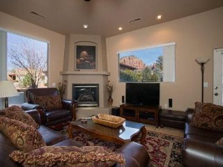 Beautiful Home in the Chapel area with an Observation Deck that has Red Rock - Village of Oak Creek vacation rentals
