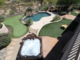 Resort Style North Scottsdale Home!Putting Green, Hot tub, pool, game rm! 14beds - Scottsdale vacation rentals