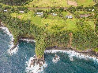 Ocean Bluff Home on the Hamakua Coast - Ninole vacation rentals