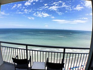 Stunning Ocean Front View for miles from the 19th floor - Myrtle Beach vacation rentals