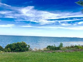 180 Degree View on Crescent Beach, overlooking the Mussel Ridge Channel - Owls Head vacation rentals