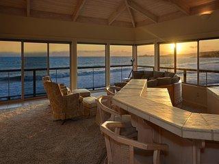 Villa Vista:Upper-Multimillion dollar oceanfront home right on the beach! - Santa Cruz vacation rentals