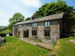 Detached, Private and Far-reaching Countryside Views - Foel Fach: 413947 - Machynlleth vacation rentals