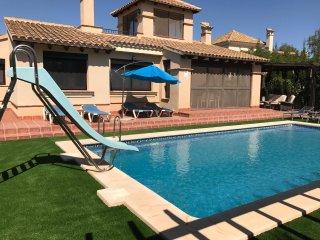 Private detached villa with own private pool - Fuente alamo de Murcia vacation rentals