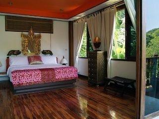Villa Eliana , second floor,  Bedroom 1 - Lamai Beach vacation rentals