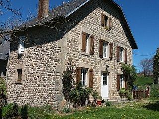 Gîte des Mille Sources, Corrèze, PNR de Millevaches, 10 à 12 couchages - Meymac vacation rentals