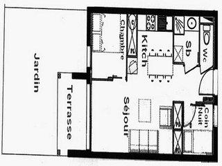 Beautiful 1 bedroom Saint-Mamet Apartment with Television - Saint-Mamet vacation rentals
