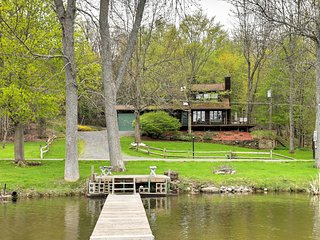 NEW! 3BR Lakefront Wolcott House w/ Spacious Deck - Wolcott vacation rentals