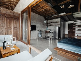 Loft with kitchen, 300m walk to the beach, Vassani Stay #1 - Canggu vacation rentals