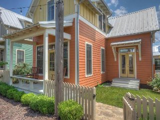 Sunny cottage nestled righ on the Boardwalk! Quick walk to the pool and lake! - Eufaula vacation rentals